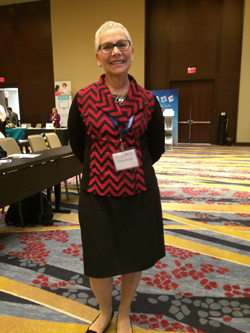 Flossie Riesner at convention 2015 - smaller pic