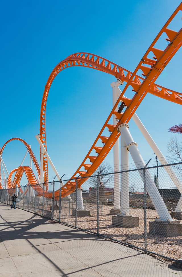 rollercoaster Photo by Ronny Coste on Unsplash